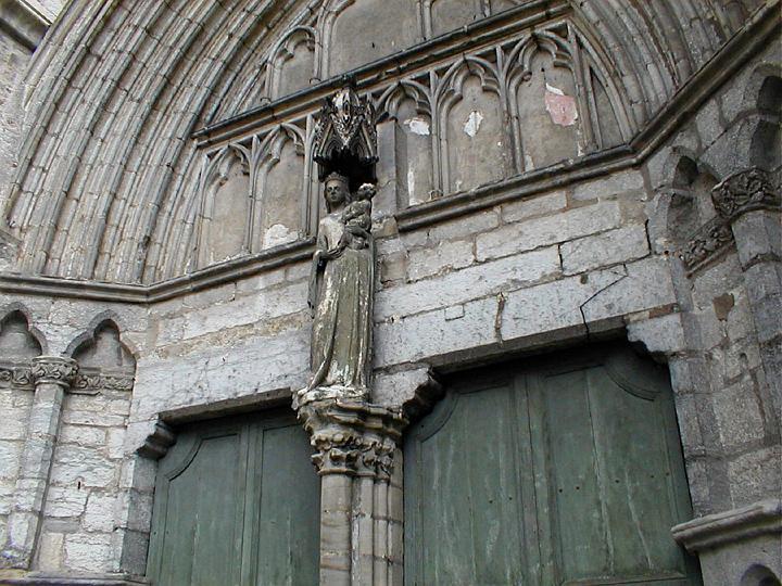 La cath drale saint tienne de cahors le porche lat ral lot - Cathedrale saint etienne de cahors ...